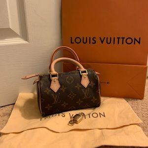 Authentic Louis Vuitton mini speedy HL